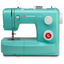 SINGER Simple 3223G Machine à Coudre Mécanique - Turquoise