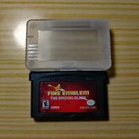 Fire Emblem: The Binding Blade Sword of Seals Game Boy Advance GBA English