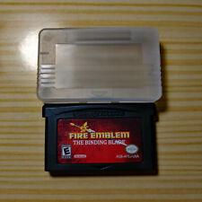 Fire Emblem: The Binding Blade Sword of Seals Game Boy Advance English GBA