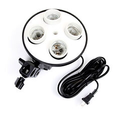 4 in 1 Bulb Socket Photo Studio Light Lamp For Softbox Umbrella Bracket Holder