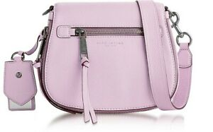 MARC JACOBS Recruit Pale Lilac Small Saddle Bag
