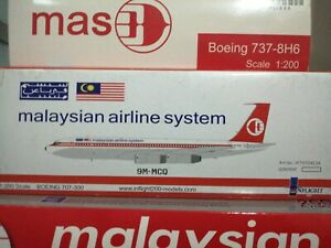 Inflight 1:200 Malaysia Airlines B707-300
