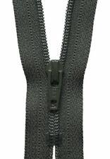 YKK Metal Trouser Zip - Mid Grey (18cm)
