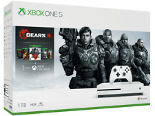 Consola - Xbox One S, 1 TB, Blanca + Gears 5