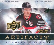 2010-11 Upper Deck Artifacts Hockey Hobby Box