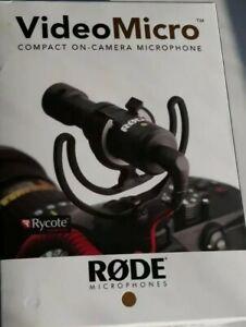 RODE VideoMicro COMPACT ON-CAMERA MICROPHONE. Video Micro.