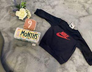 Baby Boys 9 Months Nike Jumper