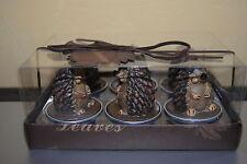 6 Teelichter Igel in Geschenkkarton Igel Kerzen Set Geschenkidee Herbstdekoratio
