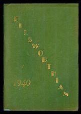 "Ellsworth Memorial High School South Windsor CT ""Ellsworthian"" 1940 Yearbook"