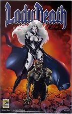 Lady Death Wicked Ways #1 Unchained Sdcc 2013 Exclusive Variant Signed With Coa