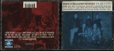 CD HIFI AND THE ROADBURNERS  FEAR CITY 1994 VICTORY RECORDS