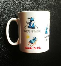 Soft Kitty Inspired Dr. Who Blue Dalek Mug