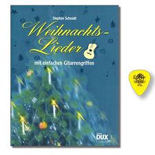 Weihnachtslieder mit einfachen Gitarrengriffen + DUNLOP PLEKTRUM - DUX854