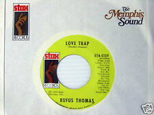 RUFUS THOMAS 45 Love Trap / 6-3-8 MINT on STAX Label