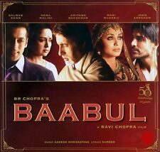 Baabul - Amitabh Bachchan, Salman Khan, Rani Mukherji Hindi bollywood movie dvd