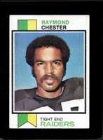 1973 TOPPS #520 RAYMOND CHESTER VGEX RAIDERS  *XR18846