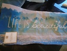 Pottery Barn Teen Life is beautiful nature photo real pillow cover 12 24 New