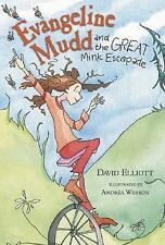 Evangeline Mudd and the Great Mink Escapade-ExLibrary