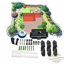 Underground Electric Dog Fence System Water Resistant Shock Collars for 3 Dogs