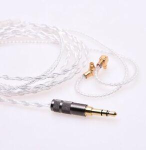 Silver Plated Headphone upgrade Cable mmcx for Etymotic ER4SR ER4XR ER4PT