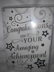 Congratulations Card / Congratulations On Your Amazing Achievement - 3 styles