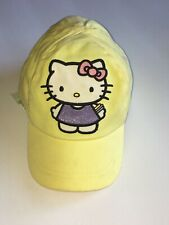9e3fca2b56f82 Kids Girls Hello Kitty Stretchable Adjustable Baseball Style Hat Cap By H M