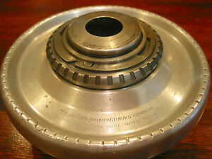 Jacobs Collet Chuck on 2 1/4 X 8 lathe mount plate for flexible rubber collets.