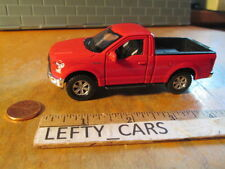 2015 Red FORD F-150 REGULAR CAB PICKUP TRUCK Roll Back Action TK NEW WITHOUT BOX