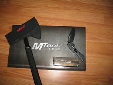 "15"" MTECH USA SURVIVAL TACTICAL TOMAHAWK THROWING AXE & TAC-FORCE KNIFE"