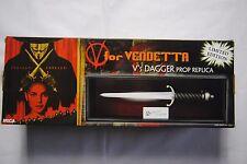 V FOR VENDETTA V'S DAGGER PROP REPLICA LTD.EDT. #860 NEW BOXED MOVIE FILM RARE