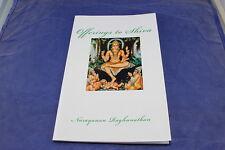 Offerings to Shiva by Narayanan Raghunathan Bhakti Poems Veera Shaiva Vachana