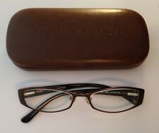 63733b5bcab Tommy Hilfiger Rx Eyeglasses TH3266 Brown Red Full Rim Rectangular 51   16-130