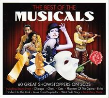 THE BEST OF THE MUSICALS - 60 GREAT SHOWSTOPPERS (NEW SEALED 3CD)