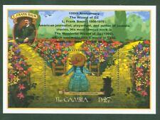 Gambia 2001 - Zauberer von Oz - Dorothy Märchen - Lyman Frank Baum - Block 533
