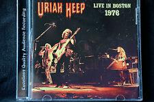 Uriah Heep Live In Boston 1976 CD New