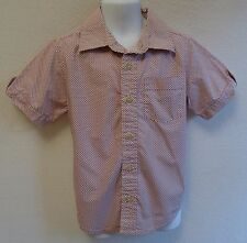 Baby Gap Boys 4 4T Shirt Button Down Short Sleeve Summer Cotton Top
