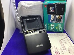 Vintage Casio LCD colour mini tv EV-200 fully working in the box