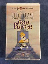 Gay Purr-ee VHS Judy Garland Robert Goulet Red Buttons
