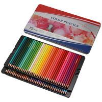 72-tlg Buntstifte Set Zeichnen Kind Aquarell Farbstifte Skizzierstifte Malstifte