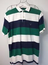 Gant men's size medium striped polo shirt