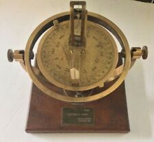 ANTIQUE 1917 A. LIETX CO. S. F., CA. U.S.A. NAUTICAL MARITIME PELORUS  COMPASS