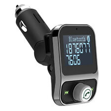 Car MP3 Audio Player Bluetooth Transmitter Wireless FM Modulator iPhone Sams DA