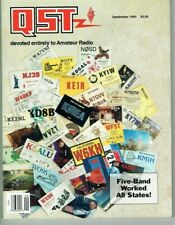 QST Magazine September 1993 Kenwood TS-50S HF Transceiver Review  USED