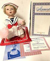 Vintage Ashton Drake Moments To Remember JILL Sailor Girl Porcelain Doll