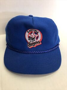 RARE New Era 59fifty Hat  Gastonia NC Rangers Minor League VINTAge