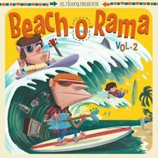 Beach-O-RAMA vol. 2, LP & CD JUKEBOX MUSIC FACTORY 2017 El VIDOCQ Comp