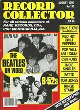 Record Collector - No. 132 (August 1990): mit Beatles, Pink Floyd, Tom Jones