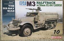1/35 Israeli IDF M3 halftrack w/ 20mm HS.404 cannon ~ 6 Day War ~ Dragon #3598