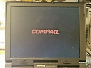 VINTAGE COMPAQ ARMADA 7800 LAPTOP.WORKS.READ DESCRIPTION