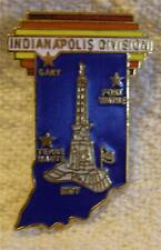 >INDIANAPOLIS DIVISION STATE TIE TAC COLLECTOR PIN>  > SET # 21>